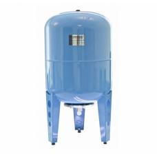 Расширительный бак Джилекс, гидроаккумулятор 100 л. вертикальный (цвет синий)