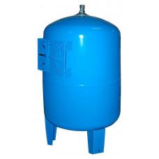 Расширительный бак STOUT , гидроаккумулятор 100 л. вертикальный (цвет синий)